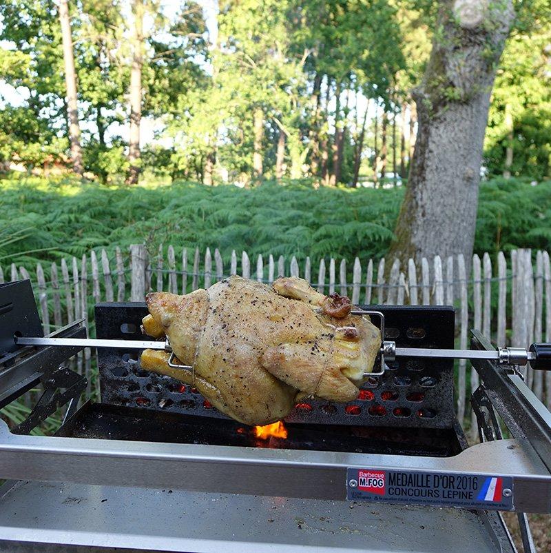 Le barbecue en terrasse